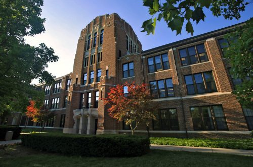 Warriner Hall at Central Michigan University