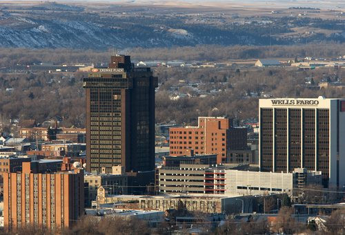 Billings skyline downtown
