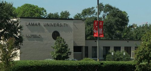 Lamar University from website
