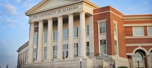 University of Alabama from website