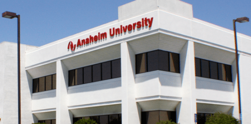 Anaheim University from website