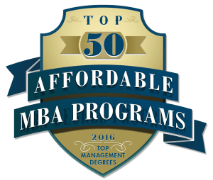 Top 50 Affordable MBA Programs 2016