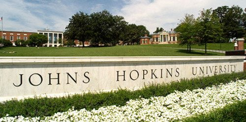 johns hopkins university from website