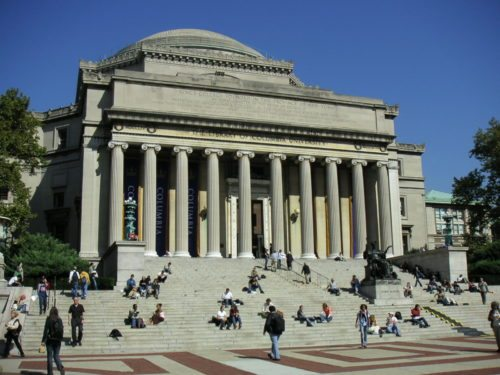 columbia university from school