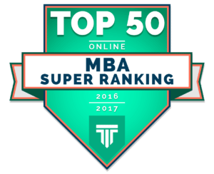 Top 50 Online MBA Super Ranking 2016-2017