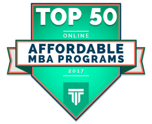 TOP 50 ONLINE MOST AFFORDABLE MBA PROGRAMS 2017