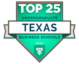 Top Undergraduate Business Schools in Texas 2017