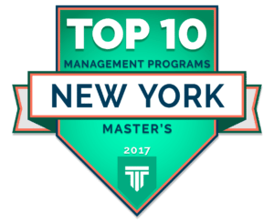 TOP 10 MASTER'S IN MANAGEMENT PROGRAMS IN NEW YORK 2017